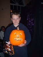 Winner of the children's Pumpkin Competition